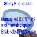 USA warehouse , sell super shiny crystal phenacetin powder CAS 62-44-2 China supplier in 2020